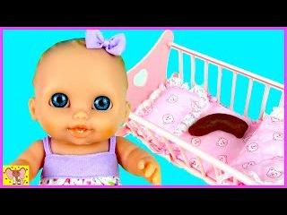 Куклы Пупсики КТО ПОКАКАЛ В КРОВАТКУ? Мультик с игрушками Новые серии Игры для д ...
