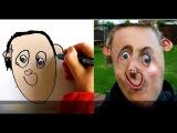 Папа добавил реальности рисункам сына. Drawings Into Reality