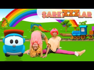 ŞarkıZZZlar - Çocuk şarkıları. Sabah Sporu Egzersizleri çocuklar için. Çizgi film, Polen ve Sema!