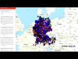 Активисты составили в Google Maps карту преступлений мигрантов