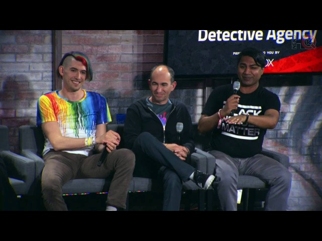 Nerd HQ 2016: A Conversation with the Cast of Dirk Gently's Holistic Detective Agency