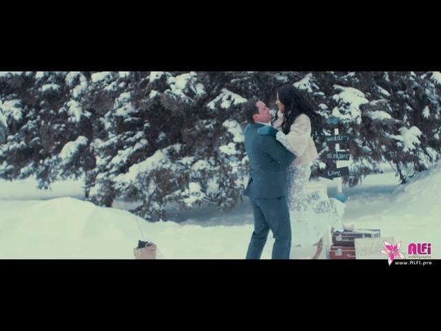 Winter Fairytale Свадебное видео от ALFI Video смотреть онлайн без регистрации