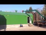 Пальник ПТВ(м)-3000 з комплексом паливоподачі, що працює в ТКУ (с. Єлизаветівка, Дніпропетровська обл.)