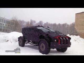 Фалькатус-Каратель концепт бронемашины, обзор военной техники России 2016