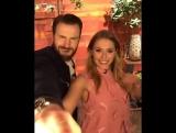 Первый Мститель: Противостояние   Крис Эванс и Элизабет Олсен на The Ellen Show