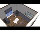 Видео кабинет для двух директоров...