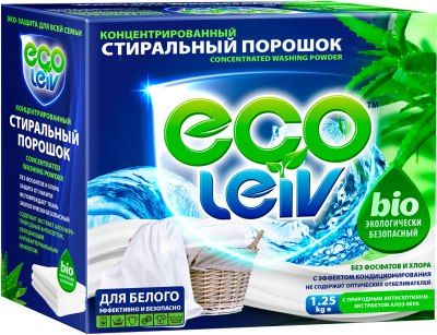 Стиральный порошок Ecoleiv в Новосибирске