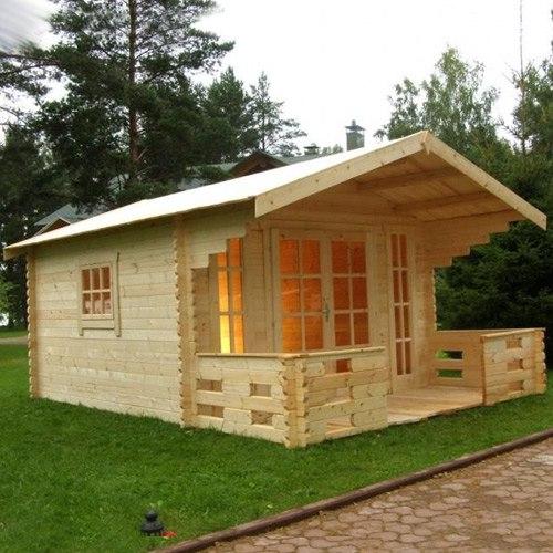 Финский дачный домик фото в Московской области