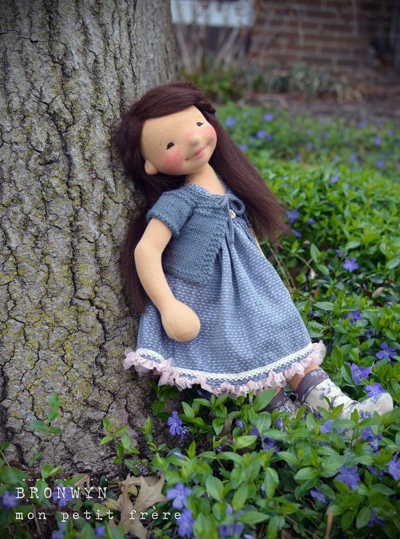 трикотажные куклы для детей