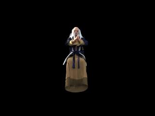 Shang Tsung анимация (наблюдение за бойцами)