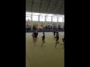 Показательное выступление по художественной гимнастики