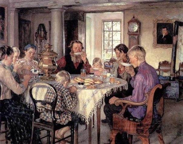 Употребленіе чая въ Россiйской Имперiи