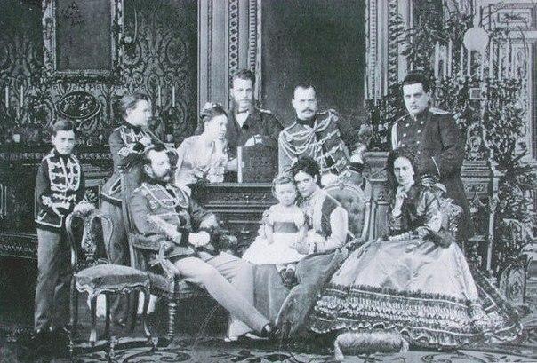 Семья императора Александра II. Великие князья Павел