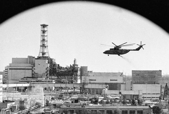 Страшные последствия аварии на Чернобыльской АЭС