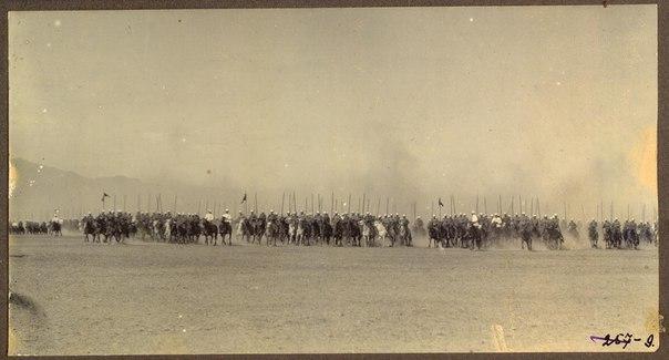Сибирские казаки на службе и дома. 1911