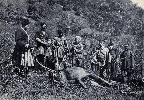 Кубанская охота Вл. кн. Сергѣя Михайловича. 1888-1909