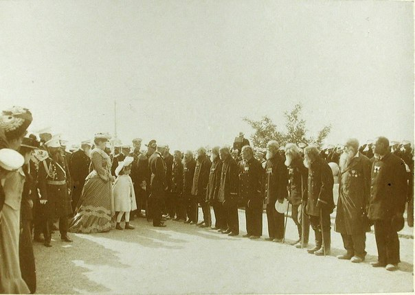 Пребывание членов императорской фамилии в Севастополе. 1902
