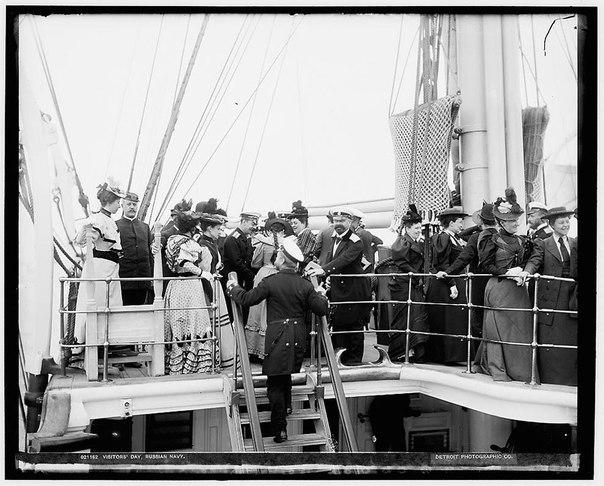 Быт русского флота- фото 1893 года