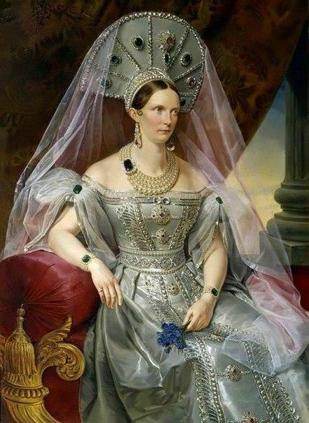 Жена Николая I, императрица Александра Федоровна, имела