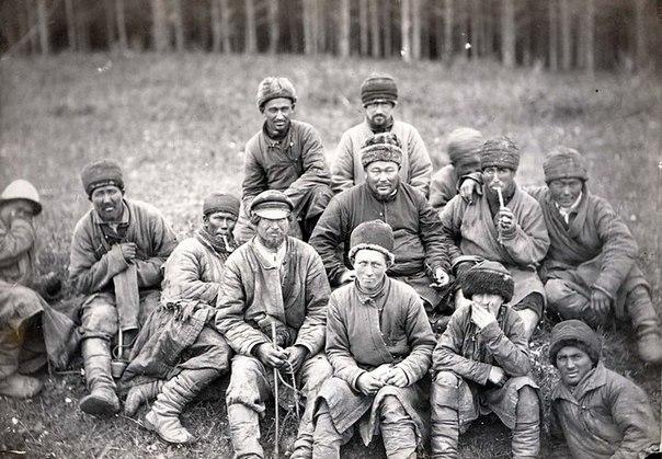 Каторга в России в лицах… Фотографии сделаны