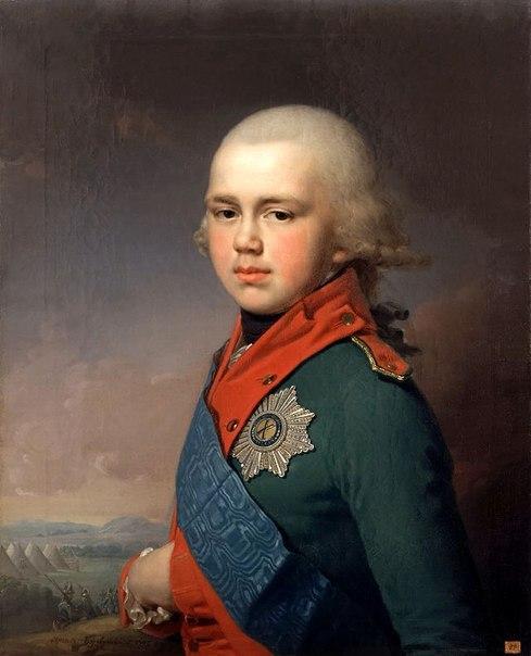 Константин Павлович у Суворова
