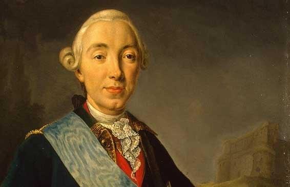 У Петра III, мужа великой императрицы Екатерины
