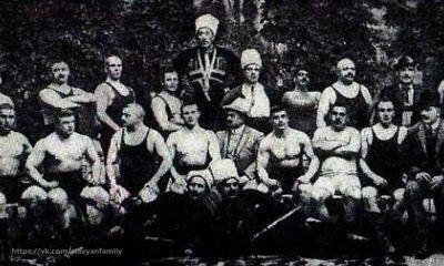 Русские силачи