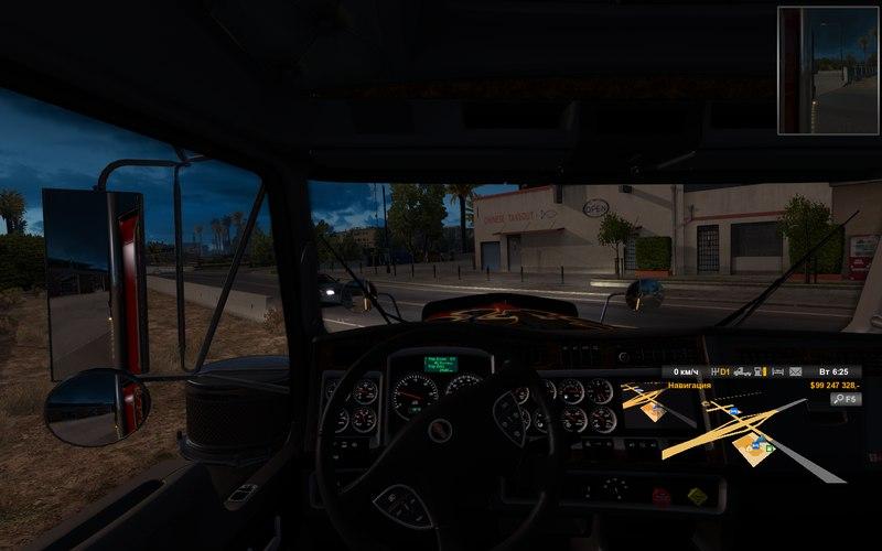 American Truck Simulator [v 1.2.1s + 2 DLC] (2016) PC | RePack от xatab - Скриншот 2