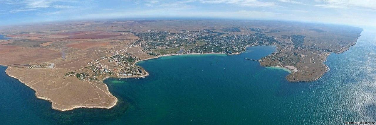Купить участок моря недорого в Черноморском