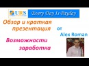 URS Ultimate Revshare обзор и подробное описание проекта, вывод денег от Alex Roman