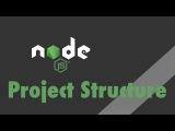 Node.js Express - Tutorial - Express Project Structure First little App