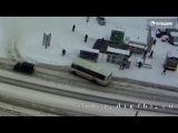 ДТП Бийск на Зеленом клине 12.01.2017
