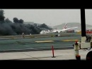 Emirates Plane Crash-Lands At Dubai Airport After Catching Fire (VIDEO)