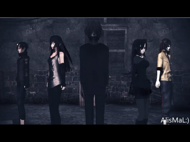 (MMD)Creepypasta/ party shaker