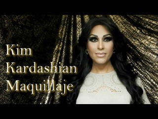 Transformacion Kim Kardashian - Maquillaje