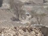 لحظة قنص أحد المنافقين في وادي ربيعة بجبهة صرواح مأرب [HD]