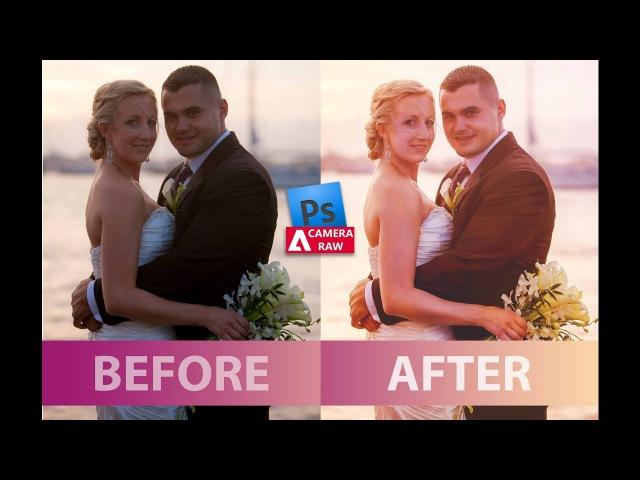 Cinematic Wedding Photo Editing I RAW Photoshop Turtorial I Photoshop Classes Photography Editing
