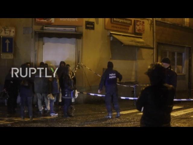 Бельгия: Трое задержанных в «анти-террор» рейдов полиции в Моленбек.