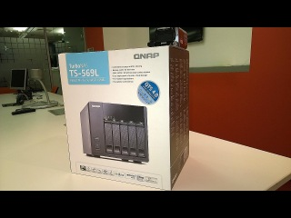 ГаджеТы: сетевое хранилище-медиацентр QNAP TS-569L - достаем из коробки и настраиваем