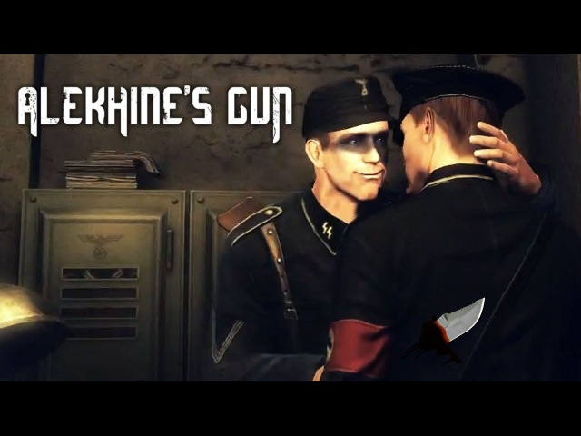DEEP IN A NAZI HOLE Alekhine's Gun Gameplay Part 2