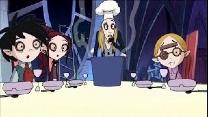 Школа Вампиров 11 серия 2 сезон Один дома