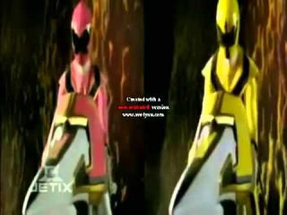 Power rangers mystic force chip tribute shadows of the yellow rangers fate