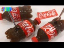 Как Сделать Реальную Мини Кока-Колу Желе к Новому Году Old Tv