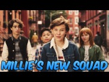 Millie Bobby Brown With her New Squad in Citi Commercials