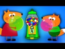 FOX FAMILY Baby Crying vs Bubble Gum New Episodes! Finger Family Song Nursery Rhymes
