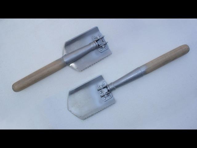 самодельная складная лопата