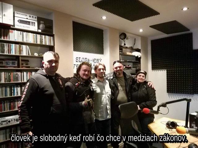 Noční vlci v Slobodnom vysielači /3.5.2017/