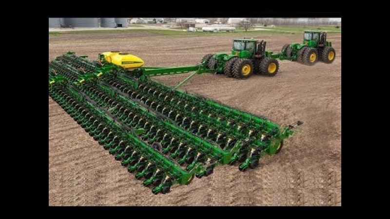 World Amazing Modern Agriculture Heavy Equipment Mega Machines Tractor, Harvester, Ditcher
