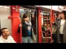 Флэшмоб солистов миланской оперы в метро
