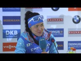 Akimova, Chevalier and Dunklee after Nove Mesto's sprint